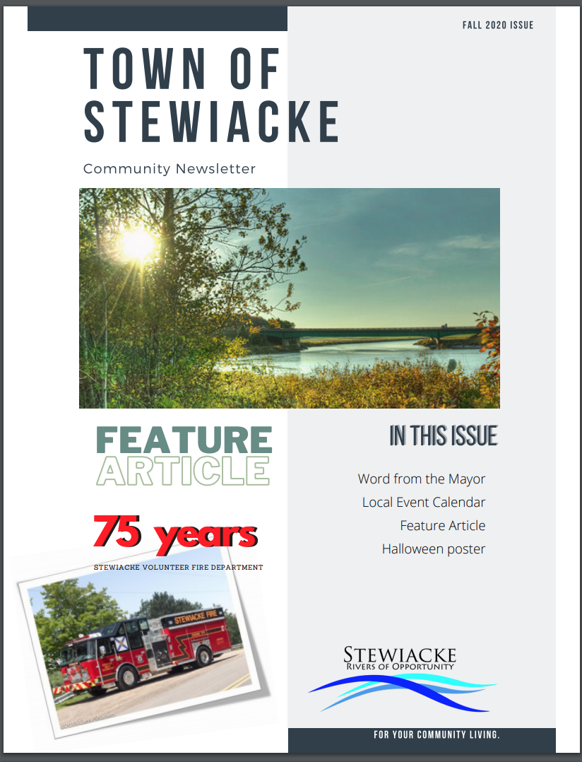 2020 Fall Newsletter - Town of Stewiacke